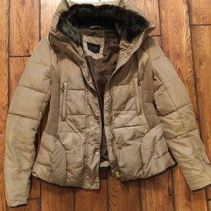 Zara basic down jacket